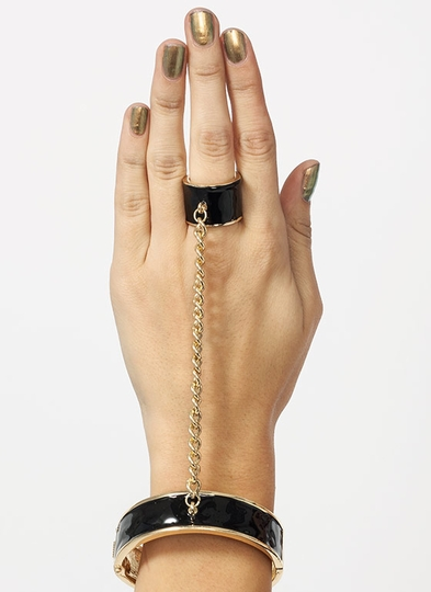 Rock Bands Cuffed Hand Bracelet