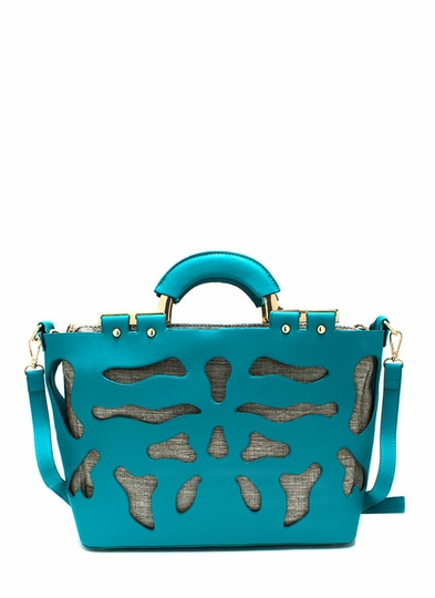 Rorschach Cut-Out Handbag