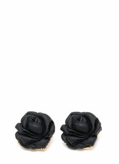 Rose To The Top Matte Earrings