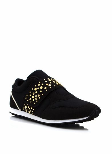 Run In Circles Studded Sneakers