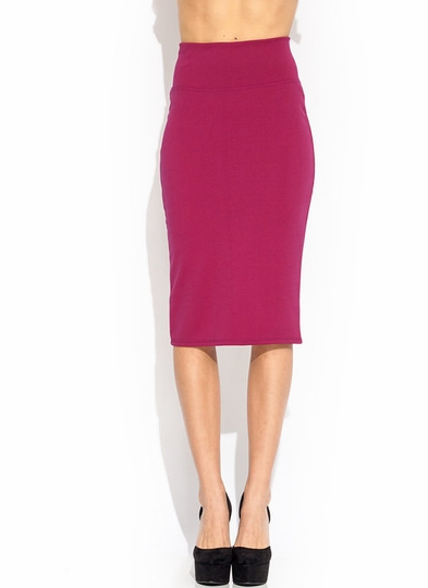 Running High-Waisted Pencil Skirt