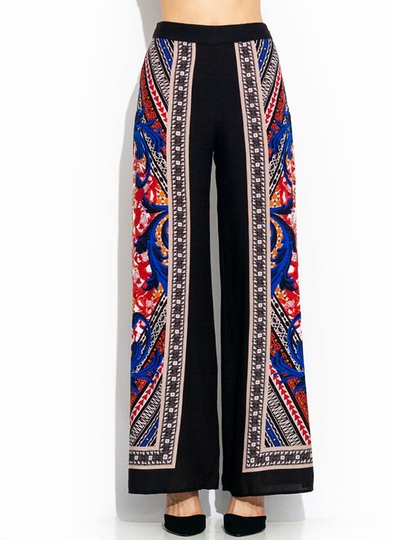 Rush To Prints Palazzo Pants