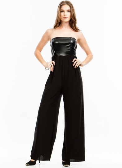Scale Up Tube Palazzo Jumpsuit