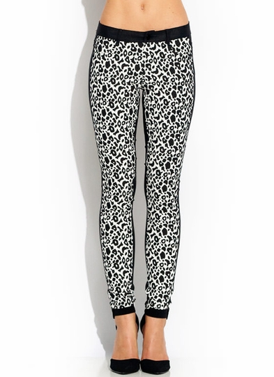 Secret Coat Leopard Pants