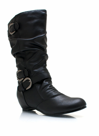 Seeing Double Buckle Boots