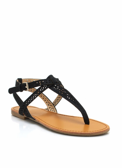 Shape Up Perforated Sandals