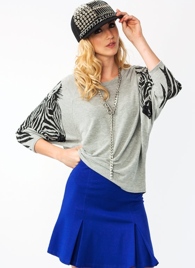 Show Your Stripes Zebra Tee