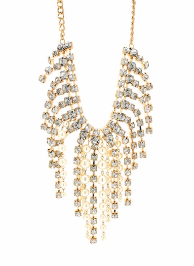 Shower Me With Pearls Necklace Set