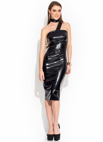 Single Lady Strapped Midi Dress