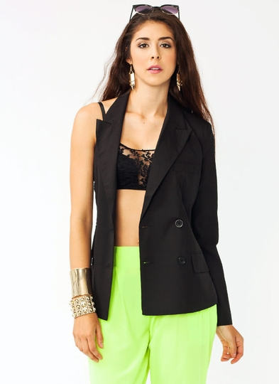 Single Sleeve Blazer