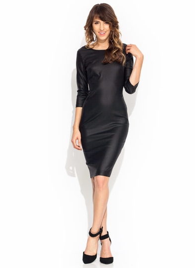 Sleek For Itself Zip-Back Midi Dress