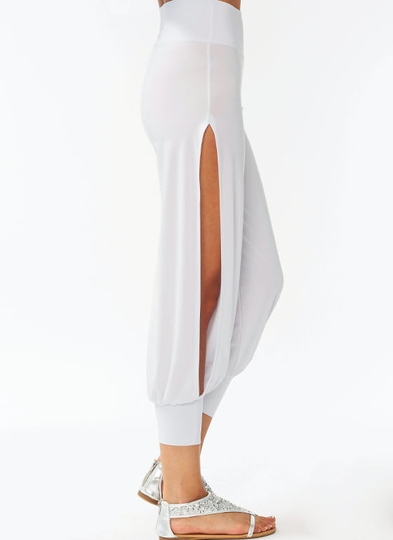 Slit Aladdin Pants