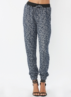Snowed In Drawstring Sweater Pants