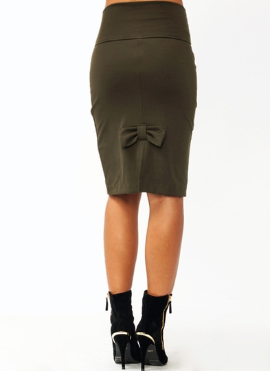 So Bowed Skirt