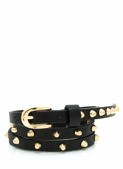 So Stud-ly Skinny Belt