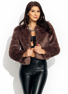 Soft Touch Faux Fur Jacket