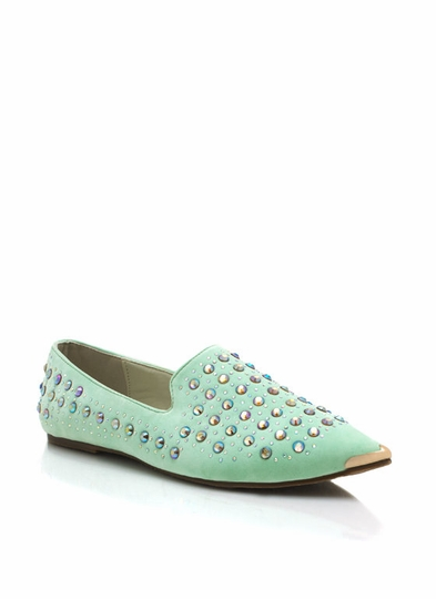 Sparkle On Pointy Flats