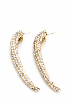 Sparkle-rific Tusk Earrings