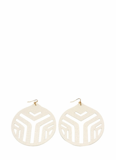 Sparkly Ornament Earrings