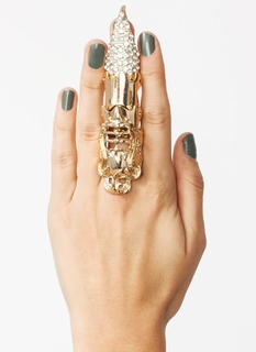 Sparkly Talon Armor Ring