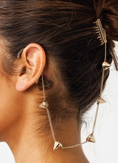 Spike It Up Hair Comb Earring