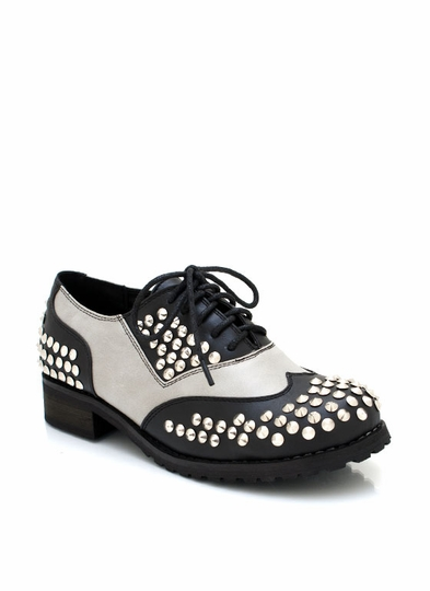Spiked Oxfords