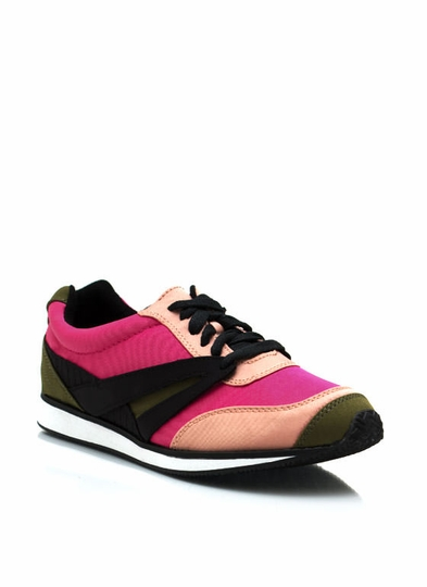 Sporty Colorblock Sneakers