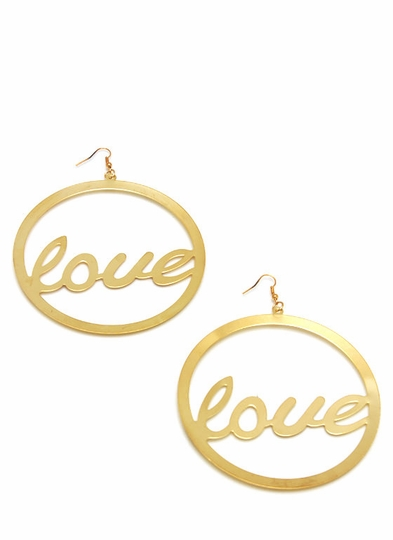 Spread The Love Oversized Earrings