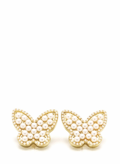 Spread Your Wings Pearl Earrings
