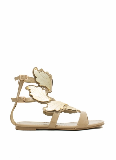 Sprout Wings Strappy Plated Sandals