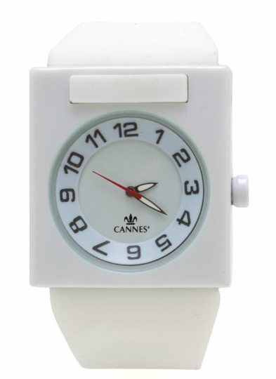 Square Face Silicone Watch