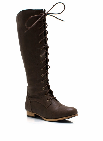 Stand Tall Lace-Up Boots