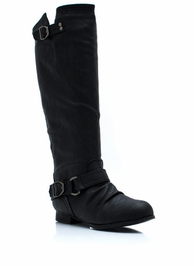 Stand Up Tall Zip-Back Boots