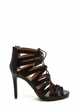 Standing Ovation Lace-Up Heels