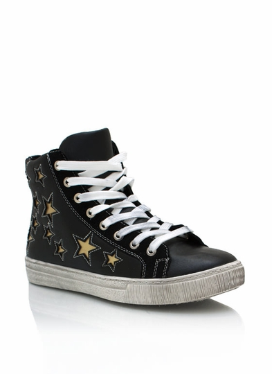 Star Cut-Out Sneakers