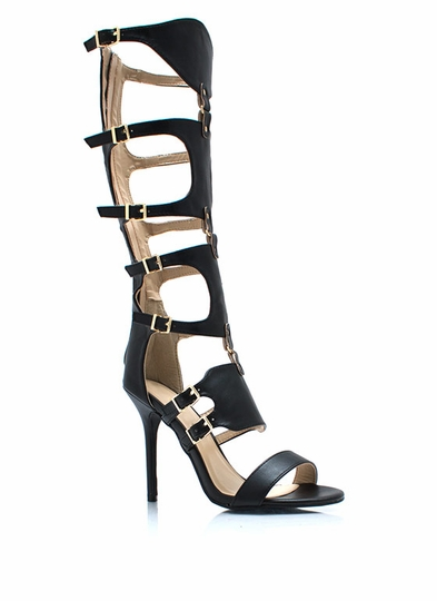 Stay Guarded Gladiator Heels