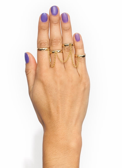 Stay Linked Chain Ring