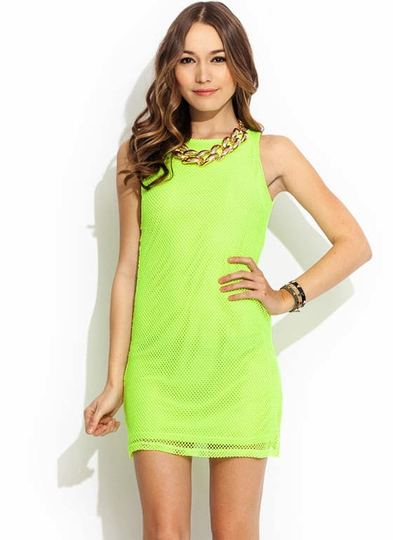 Stay Sporty Mesh Dress