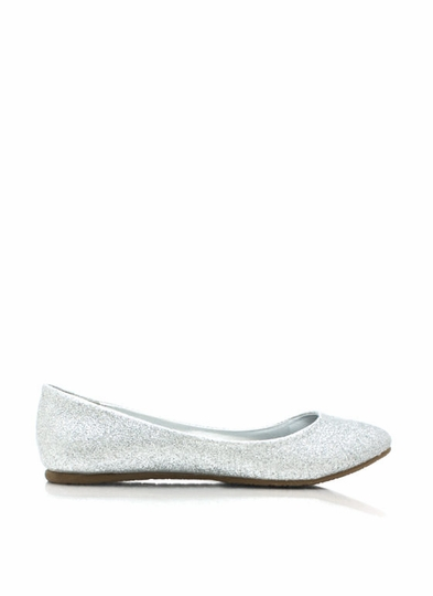Step Into The Light Glitter Flats