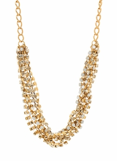 Strand Up Jeweled Necklace Set