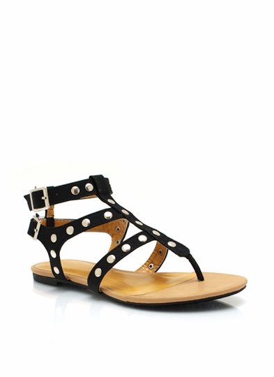 Strapped In Studded Sandals