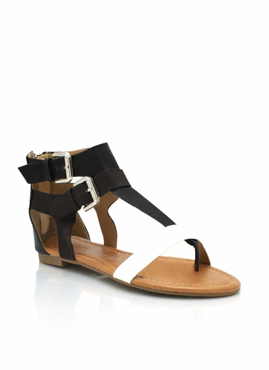 Strappy Colorblock Sandals