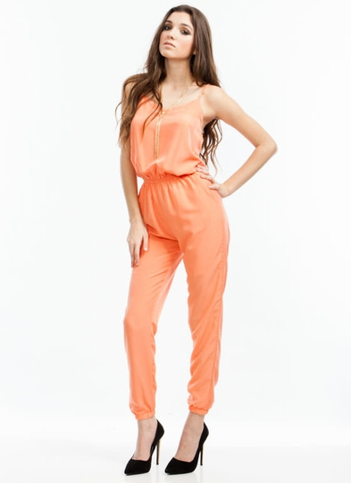 Strappy Days Jogger Jumpsuit