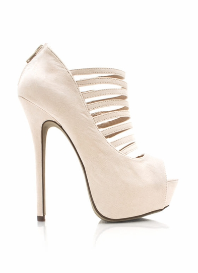 Strappy Open Toe Stiletto Heels