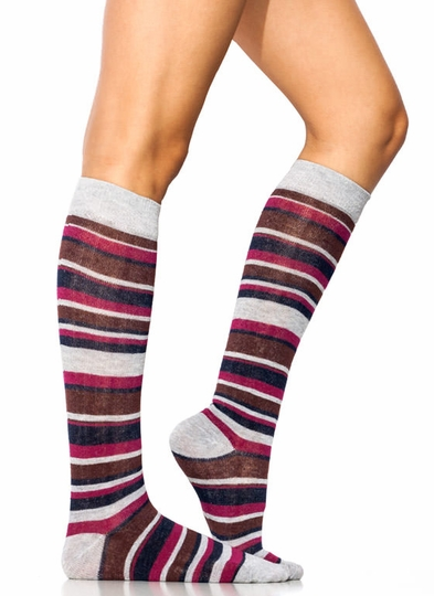 Stripe It Rich Knee-High Socks
