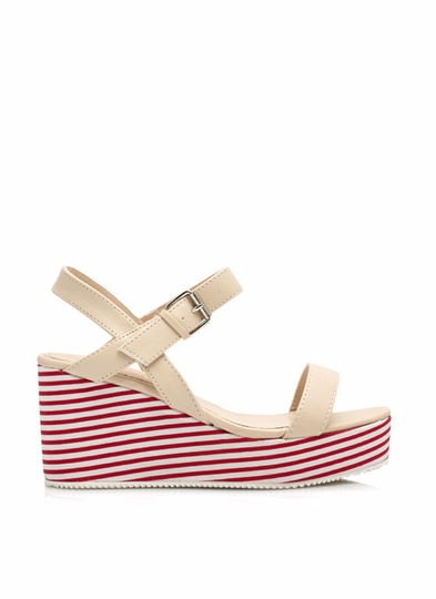 Stripe Up A Conversation Wedges