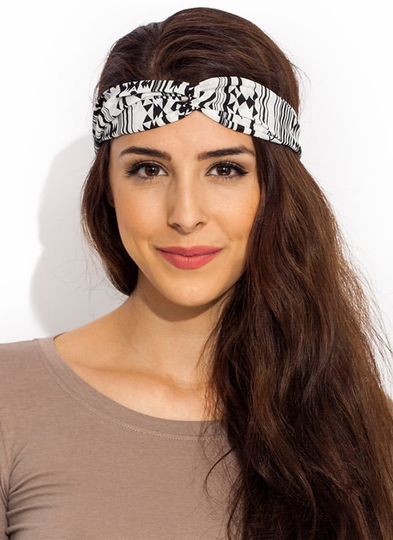 Striped Out Tribal Headband