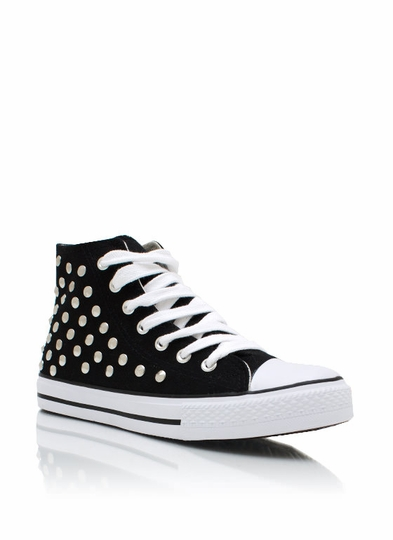 Stud-y Time Canvas Sneakers