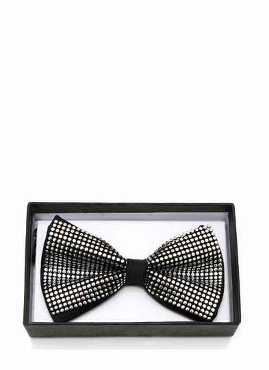 Studded And Stylish Bow Tie