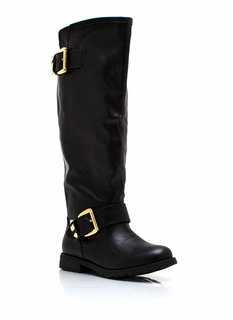 Studly Double Buckle Boots